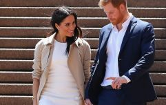 This very famous couple will reportedly be Meghan and Harry's baby's godparents