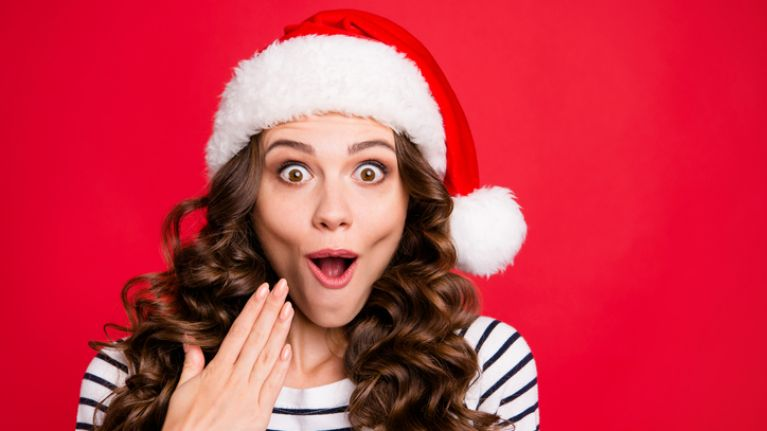 There is €400 up for grabs with this Secret Santa giveaway