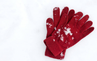 These gloves have HEATERS inside them and we're seriously considering buying them