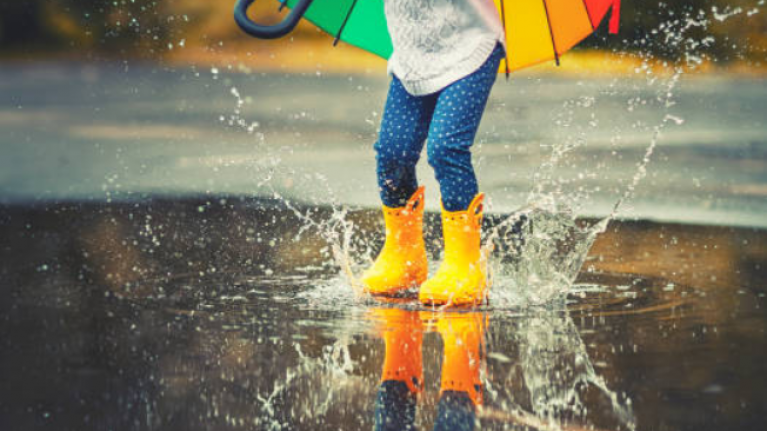 Met Éireann predict that there's going to be rain, rain and more rain today