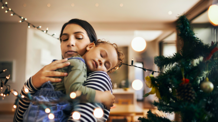 All is calm, all is bright: 3 easy ways to 'Christmas proof' your baby's sleep routine