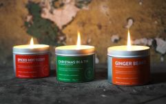 6 Irish-made Christmas candles that will get you in the holiday spirit