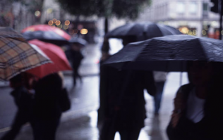 Met Éireann predict that were in for a cold, rainy day
