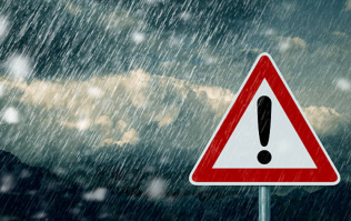 Met Éireann say the weather is going to be full of rain and gale force winds today