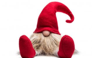 I bought Santa's Lazy Gnome and every parent sick of Elf on the Shelf needs one