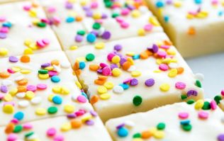 Birthday cake fudge is the easy treat to bookmark for upcoming kids' parties
