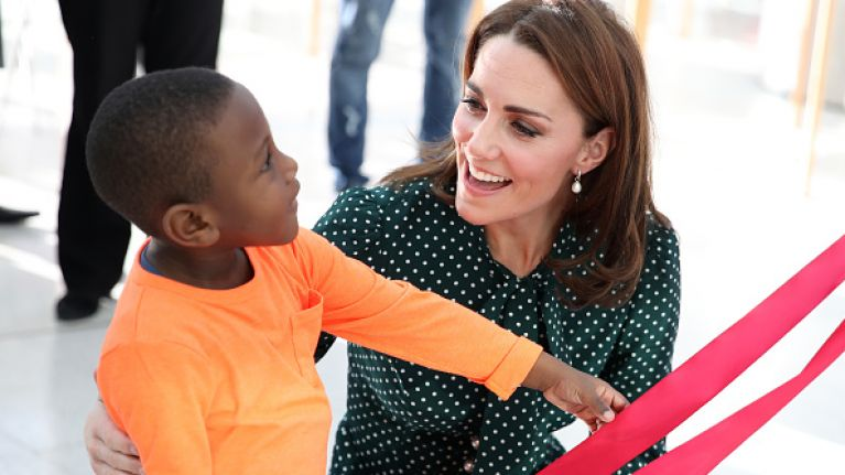 Kate Middleton was a firm favourite among kids at the children's hospital she was made patron of