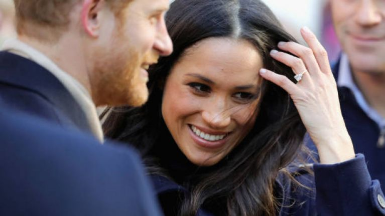 Here's the reason why you'll always see Harry and Meghan touching their wedding rings