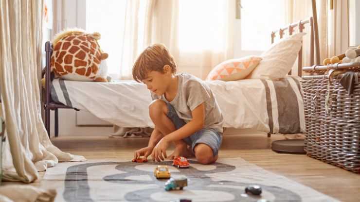Toy cars all over your house? You'll love this tidying hack.