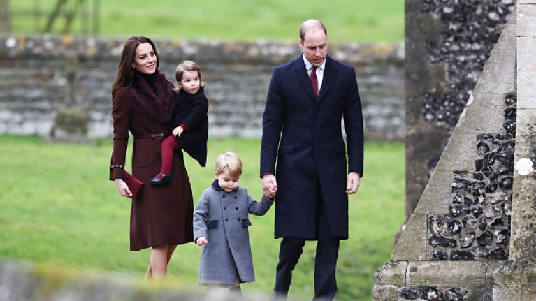 Why Charlotte and George weren't at church with their parents this Christmas Day