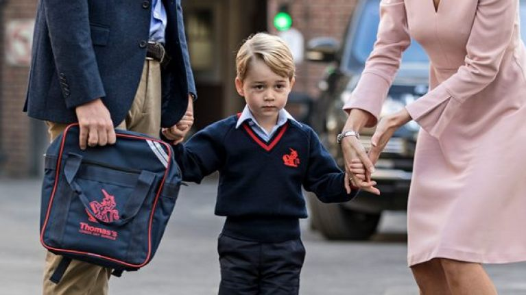 Is Prince George set to break tradition by attending a different school to his father?