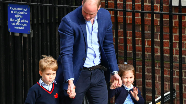 These photos show how alike Princess Charlotte and Prince William are