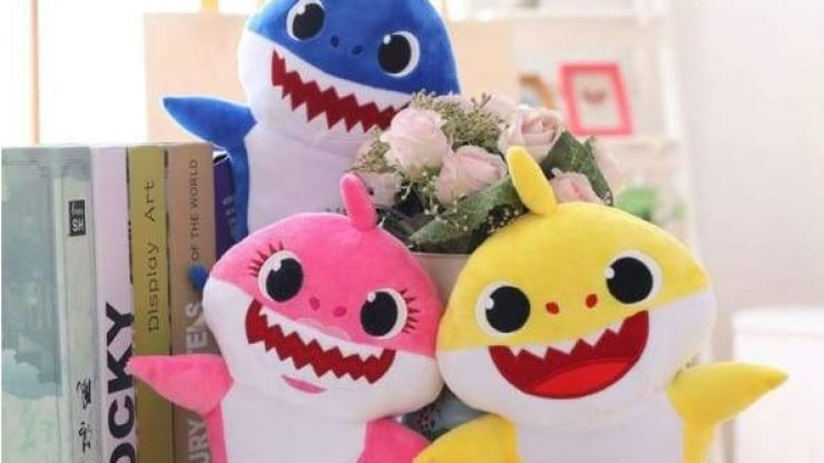 Baby Shark toys are here, and prepare to go slowly insane