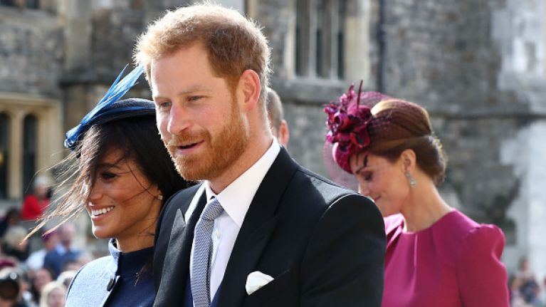 Royal expert says Meghan Markle's pregnancy was first spotted at Princess Eugenie's wedding