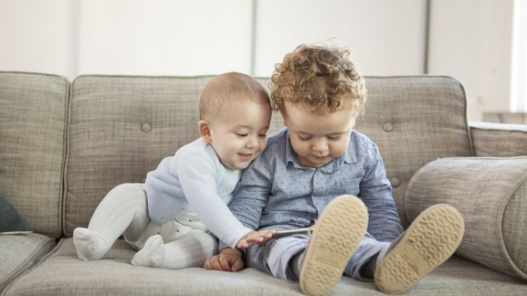 """WHO releases brand new guidelines stating """"no screen time at ALL"""" for under-2s"""