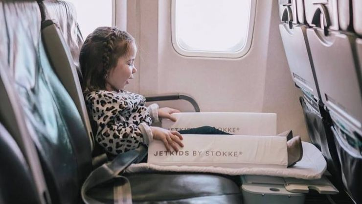Stokke JetKids Bedbox is a must have for anyone travelling long haul with a child