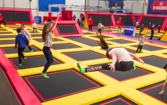 JumpZone has just opened a brand new trampoline park in Liffey Valley
