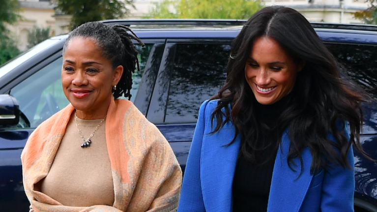 Meghan Markle's mum Doria Ragland has reportedly arrived in the UK