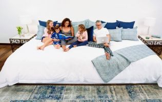 This giant family bed is perfect for parents who just co-sleep (and we want one!)