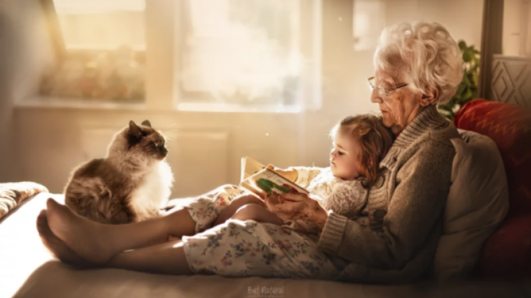 These pictures of grandparents with their grandkids are pure love