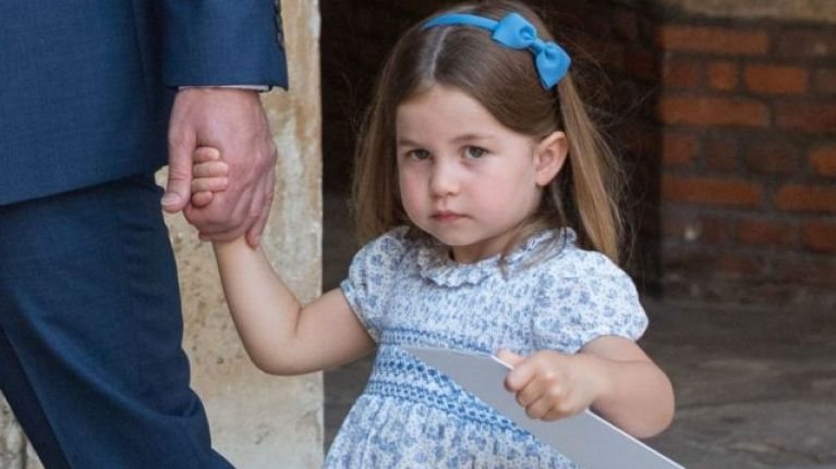 Princess Charlotte marked a super emotional milestone this week