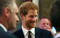 Prince Harry is beaming as he speaks from Windsor for the first time as a new dad