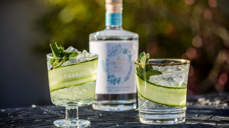 This non-alcoholic gin is the perfect treat for expectant mums on sunny days