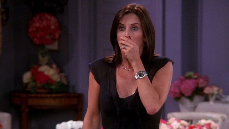 Courteney Cox shares emotional Friends throwback from before the show ever aired