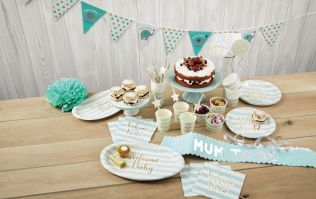 Aldi are bringing out a range of baby shower decorations starting at just 79c!