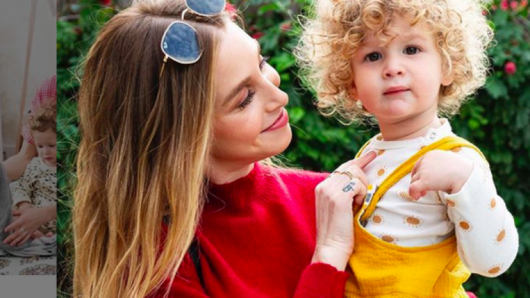 """You will be able to get through it"" – Whitney Port on those first crazy few weeks of motherhood"