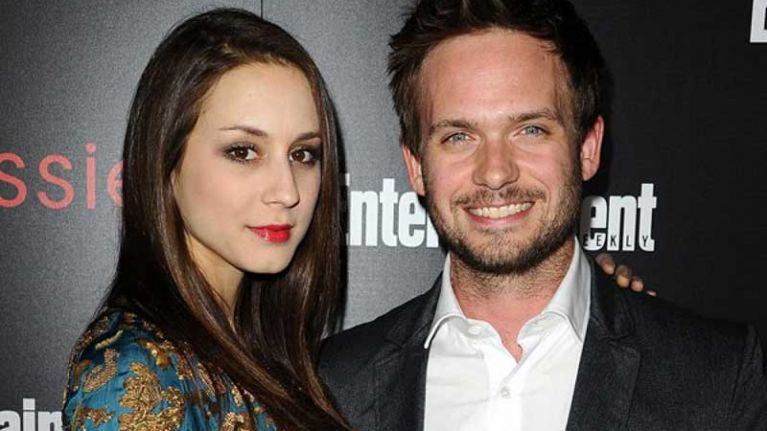 Patrick J Adams gushes about Troian Bellisario being a mum on Instagram