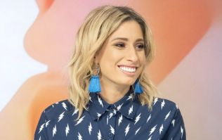 Stacey Solomon looked like a glowing angel at her baby shower this weekend