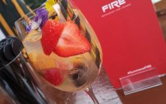 The non-alcoholic cocktails at FIRE are divine and ideal for your baby shower