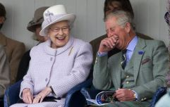 The Queen made a pretty hilarious joke about Kate Middleton and Prince William yesterday