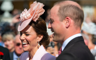 Kate Middleton and Prince William send photo of Prince Louis to royal fans