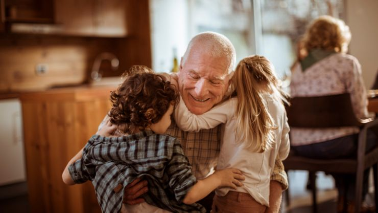 Spending time with their grandparents has so many benefits to children, study says