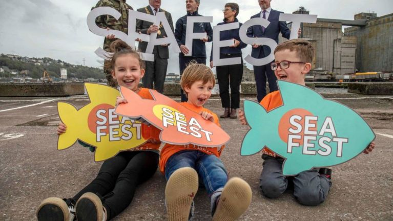 SeaFest Ireland's largest free maritime festival starts today