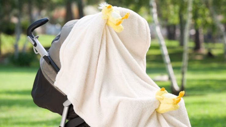 Summer safety: Here is why you should NEVER drape a blanket over your child's stroller
