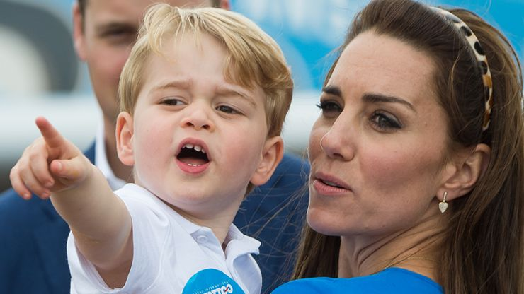 Prince George's favourite household chore is actually the cutest thing ever
