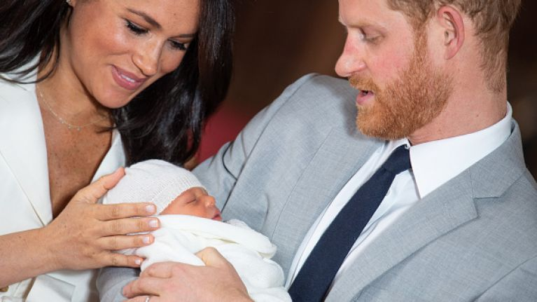 Meghan Markle and Prince Harry release the most adorable photo from Archie's christening