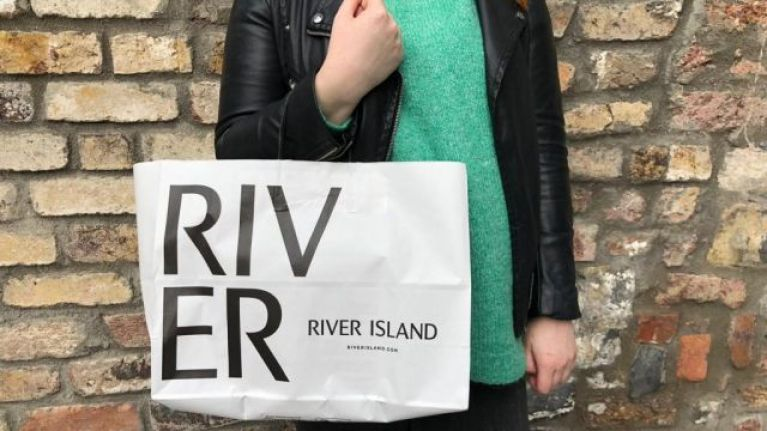 The River Island dress that's been reduced to €18 comes in two fab colours