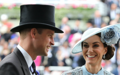 Kate Middleton's Elie Saab powder blue dress is race day perfection
