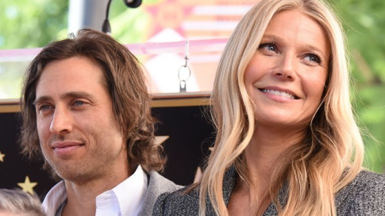 Gwyneth and husband Brad have separate homes and stay together four nights a week