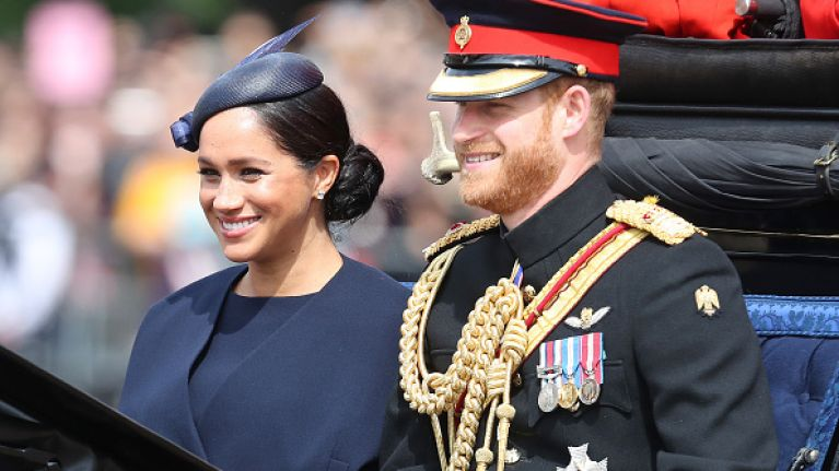 It looks like Meghan Markle received a FAB push present from Prince Harry