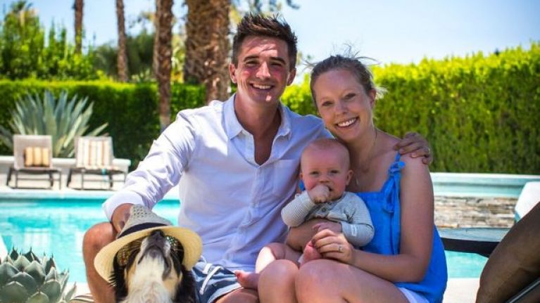 Great news! Donal Skehan and his wife, Sofie, are expecting their second child