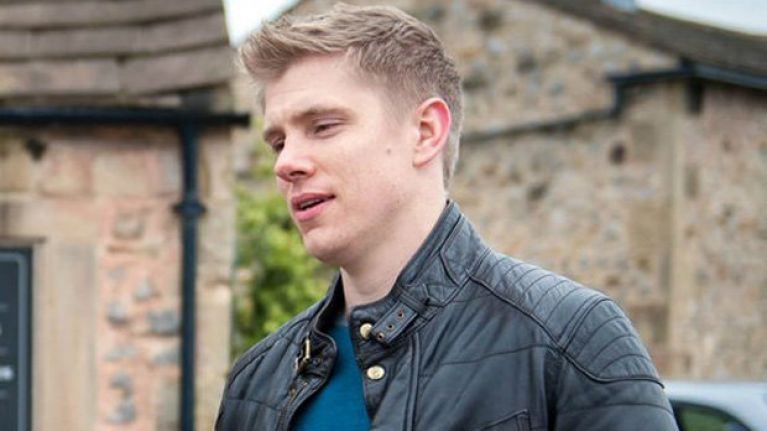 Ryan Hawley has quit his role as Robert Sugden on Emmerdale