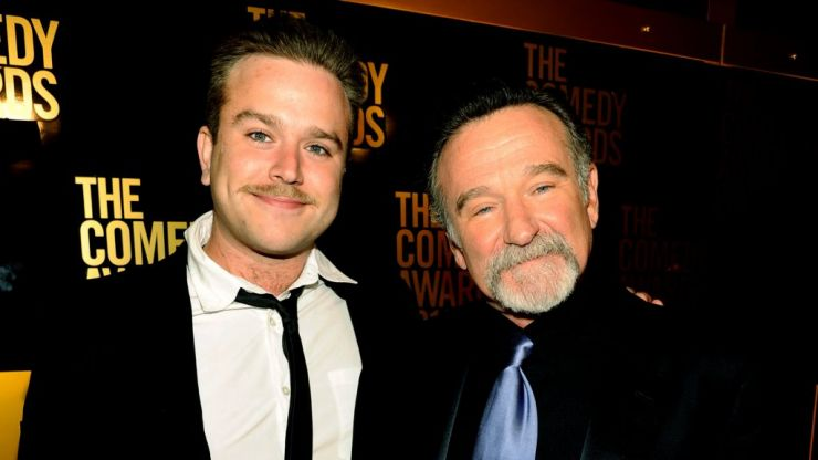 Robin Williams' son pays tribute to his dad with his new son's name
