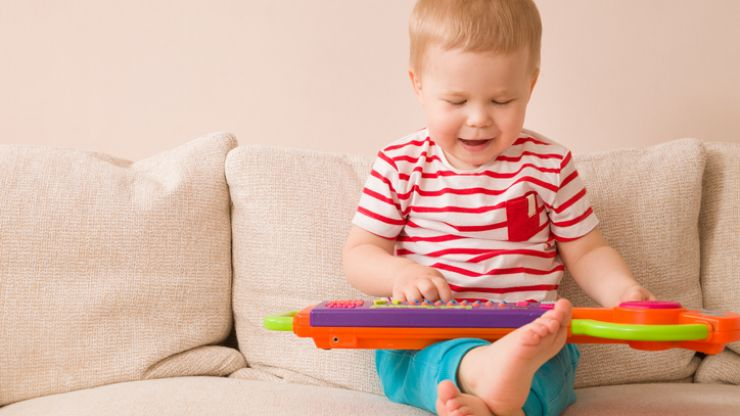 There is a particular number of toys that your baby should have, apparently