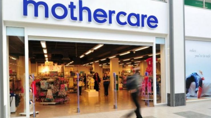 Mothercare temporarily close stores but range can still be bought on website and app