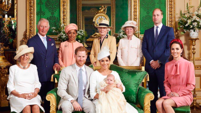Everyone is saying the same thing about Prince William in Archie's christening photo